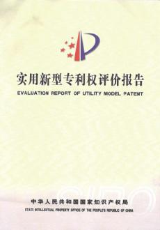 实用新型专利权评价报告